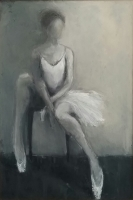 Mary Holton | In  Thought | Oil | 36 x24 | Sold