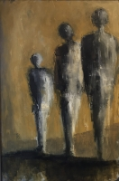 Mary Holton | Familia | Oil on Canvas | 36 x 20 | Inquire