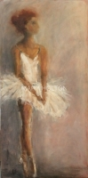 Mary Holton | En Pointe | Oil on Canvas | 48 x 48 | Sold