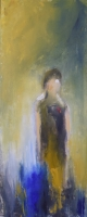 Mary Holton | Me, Myself | Oil on Canvas | 40 x 16 | SOLD