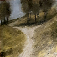 Mary Holton | Path | Oil on Canvas  | 20 x 20 | Inquire