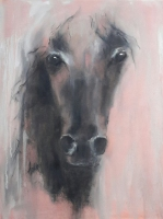 Mary Holton | Red Roan | Oil on Canvas | 24 x 18 | Inquire