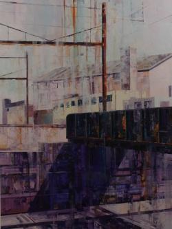 Michael Bartmann  |  Crossover |  Oil on Board  |  48 x 36 |   $4,800.
