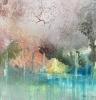 Sheila O'Keefe Braun |  Silver II, 2020 |   Acrylic |  24x24 |  $1,700.
