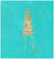 René  Romero Schu Ansel, 2019 |  24kg on hand-made Nepali lokta paper |  30 x 20 38 x 28 framed |  $1,500. | SOLD