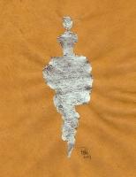 René  Romero Schuler |  Shane, 2019 |  Sterling silver leaf on handmade Nepali lokta paper |  11x8.5 unframed |  $425.