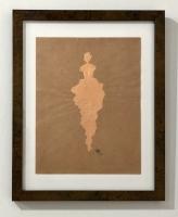 René Romero Schuler | Cent, 2019 | Genuine copper leaf on handmade Nepali lokta paper | 11x8.5 | $800.