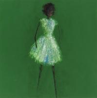 René  Romero Schuler |   Enya, 2018 |   Oil on canvas |   60 x 60 |  $17,000.