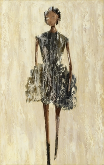 René  Romero Schuler |   Selita, 2020 |   Oil on canvas |   48 x 30 |  $7,000. SOLD