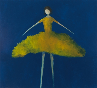 René  Romero Schuler |   Twirl, 2020 |   Oil on canvas |   54 x 60 |  $16,000. SOLD