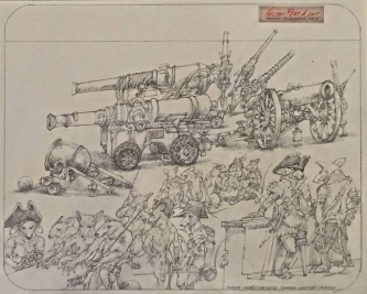 Robert A. Nelson  |  Pirates Buying a Cannon, 