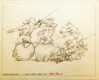 PROTECTING THE FRUIT, 2012 -SOLD