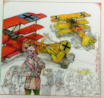 GETTING GERMANS READY FOR THE DAWN PATROL - SOLD