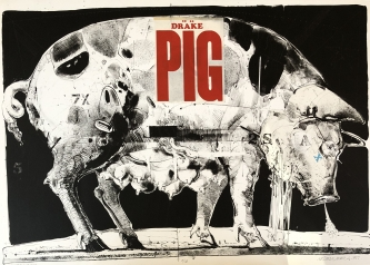 Robert A. Nelson |  Released from the Vault |  Drake the Pig, 1977 |  Lithograph |  25.25 x 35 |  $5,000. SOLD