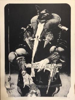 KING CAT AT NIGHT, c. 1970-80 -SOLD