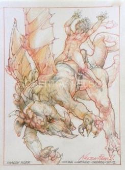 DRAGON RIDER, 2012 - SOLD