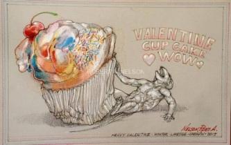 HEAVY VALENTINE, 2015 - SOLD