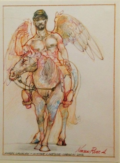 ANGEL CAVALRY - SOLD