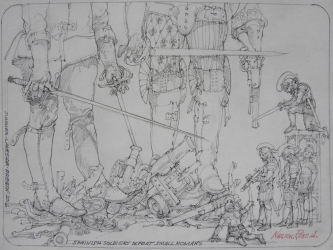 SPANISH SOLDIERS, 2016 - SOLD