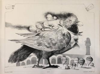 EDISON'S BIRD, c. 1970-80 -SOLD