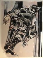 Knight, 1988  Monoprint  28 x 36  $2400.