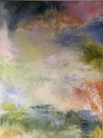 Sheila O'Keefe Braun  N2  Acrylic/fingerwork/knives  30 x 40  $3200.