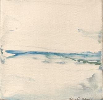 Sheila O'Keefe Braun |  Untitled |  Acrylic fingerwork/knives |  5 x 5 |  $125. |