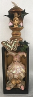 TIM RAY FISHER  LOST INNOCENCE  Assemblage 15 x 4 x 4  $145