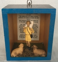TIM RAY FISHER  SHEPHERD BOY  Assemblage 6 x 5 x 3.5  $100