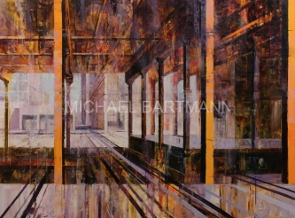 Michael Bartmann  |  Beckon |  Oil on Board  |  36 X 48  |  $4,500. SOLD