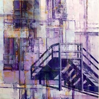 Michael Bartmann  |  Back Door |  Oil on Board  |  12 X 12  |  $1,000. SOLD