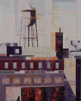 Michael Bartmann  |  Past Life V, Armstrong |  Oil on Board |  30 x 24 |  $4500. SOLD