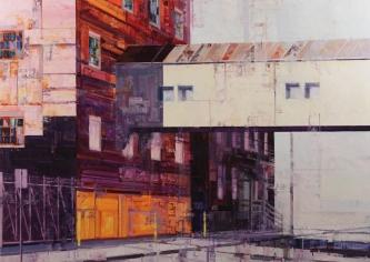 Michael Bartmann  |  Bridge of Sigh |  Oil on Board  |  40 x 56  |  $5,800. SOLD