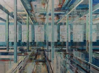 Michael Bartmann  |  Stehli at Rest III |  Oil on Board  |  36 x 48 |   $4,800. SOLD