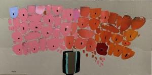 Trevor Mikula  |  Ombre Love  |  24 x 48  |  $1,650. SOLD