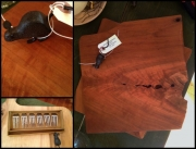 WES NEWSWANGER CHEESE BOARDS CHERRY 55.